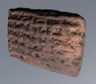 3D Scanning a Tablet: The Maštuk Family in Leiden